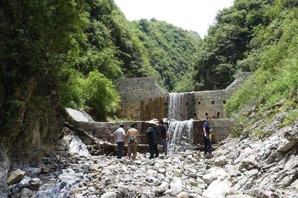 地灾治理拦挡坝工程